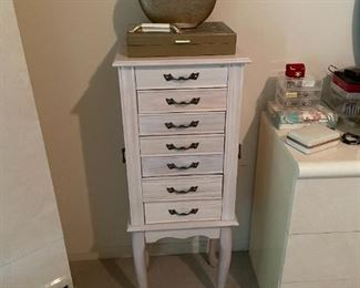. . . a jewelry armoire -- these are great to keep your jewelry organized