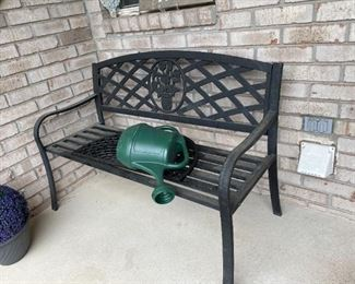 . . . great porch bench