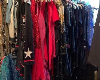 costumes and evening gowns