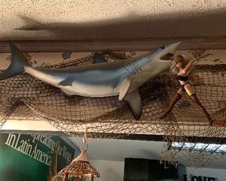fiberglass shark