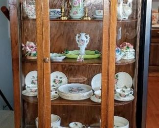 Antique Curved Glass with Wonderful Glass