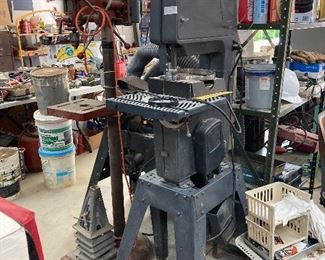 Band Saw craftsman, Delta drill press