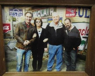 Larry & Brenda with the American Pickers