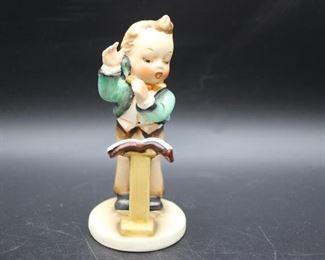 Lot of 6 Unmarked Hummel-style porcelain figures