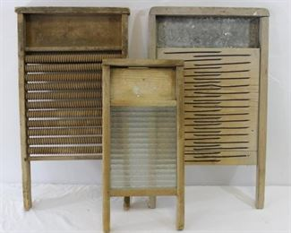 Vintage Washboards