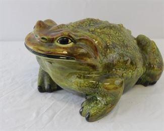 Large Ceramic Toad