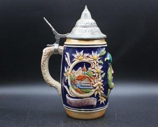 1950s German Beer Stein