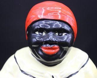 Vintage Black Americana Mammy Cookie Jar 2