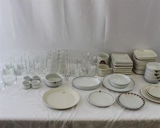 Vintage First Class Airline Serve ware