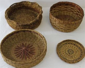 Small Round Woven Baskets