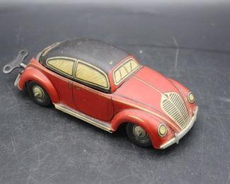 1940s CKO Volkswagen Windup Toy Car