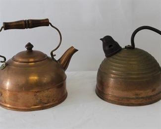 Revere Ware Copper Kettles