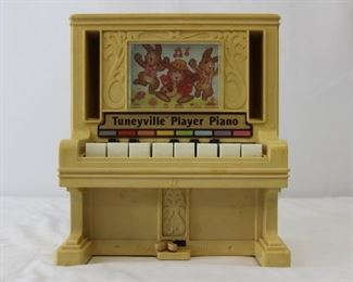 1978 Tomy Corp.  Tuneyville Player Piano toy