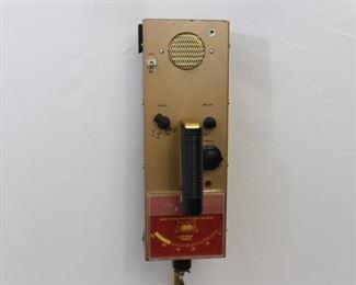 Vintage Ted Williams Treasure Hunter Metal Detector