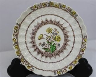 "Vintage Assortment of Copeland Spode ""England Buttercup"" China & Mason's ""Manchu"" China Pieces"