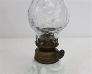 Lot 3 Antique Oil Lamps