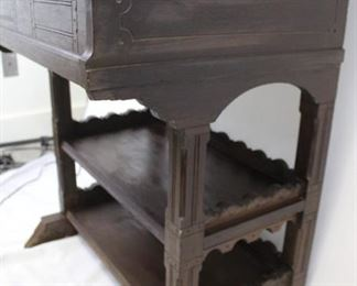 Eastlake Slant Top Small Two-Tiered Desk