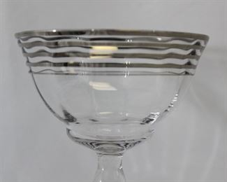Art Deco Style Champagne Glasses