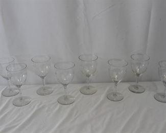 Grape Vine Etched Wine Glasses
