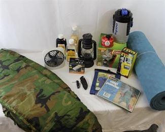 Coleman PerfectFlo Stove, Portable Weather Radio, Sleeping Bag & More Camping Gear!