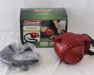 Coleman Blow Up Mattress & Electric Pump