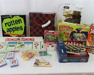Board Games, Puzzles & Playing Cards