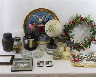 Candle Holders, Candles, Picture Frames, Vases & More!
