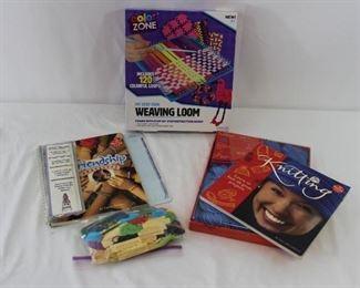 Learn To Knit, Weaving Loom & Friendship Bracelet Kits