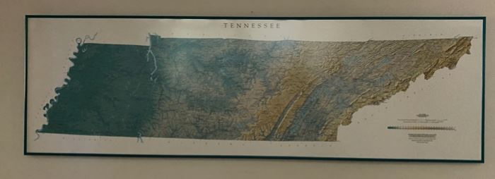 Map Of  TN