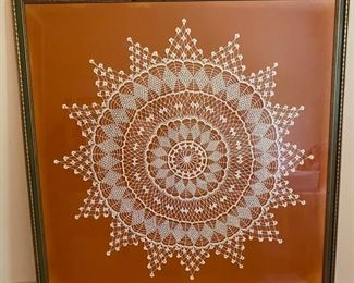 Large Framed Needlework