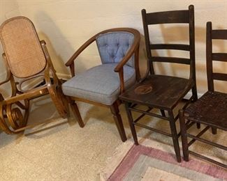 Variety of Chairs and Rockers