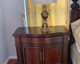 Master bedroom two night stand