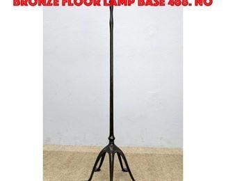 Lot 9 TIFFANY STUDIOS New York Bronze Floor Lamp Base 468. No