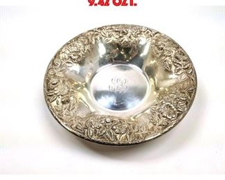 Lot 86 S. KIRK and SONS Round Dish. 9.42 OZT.