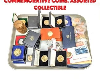 Lot 114 Large lot of Commemorative Coins. Assorted collectible