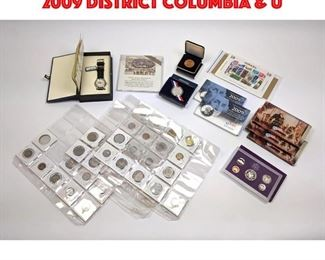 Lot 116 US MINT Proof Coin Set. Plus 2009 District Columbia U