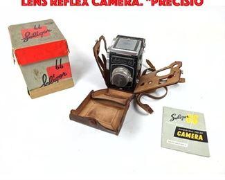 Lot 213 Vintage SOLIGOR 66 Single Lens Reflex Camera. Precisio