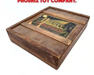Lot 220 Boxed Liberty Stone Blocks. Phoenix Toy Company.