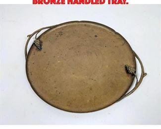 Lot 226 EMILIO MAROFF French Bronze Handled Tray.