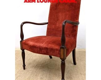 Lot 229 HICKORY CHAIR Federal Style Arm Lounge Chair.