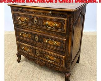 Lot 416 THEODORE ALEXANDER Designer Bachelor s Chest Dresser. I