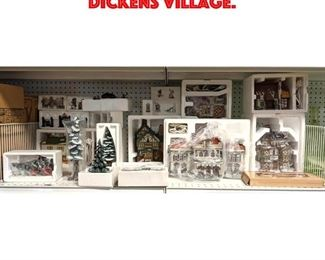 Lot 453 Large Lot of Dickens Village.