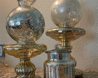$50 mercury glass grouping