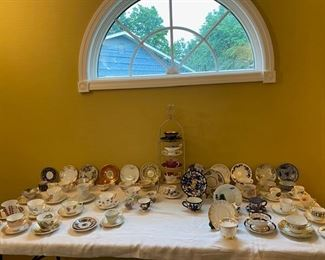 Tea Cups and Saucers - Royal Doulton, Royal Adderly, Bavaria and more