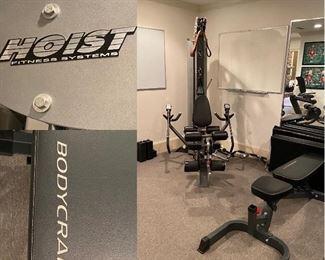 V5 Hoist Fitness Systems Multi Station Home Gym Body Craft Bench