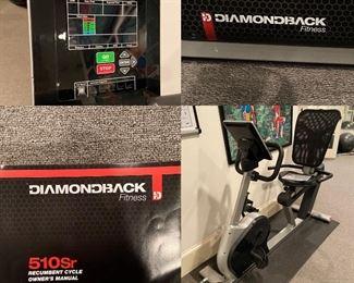 Diamondback Fitness 510Sr Recumbent Cycle Bike