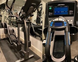 Life Fitness E5 Total - Body Elliptical Cross-Trainer with Go console