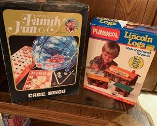 Vintage Games and Toys!