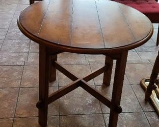 Round Game/Lamp Table Like New $85 OBO