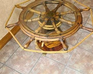 Helm Table Antique $195 OBO